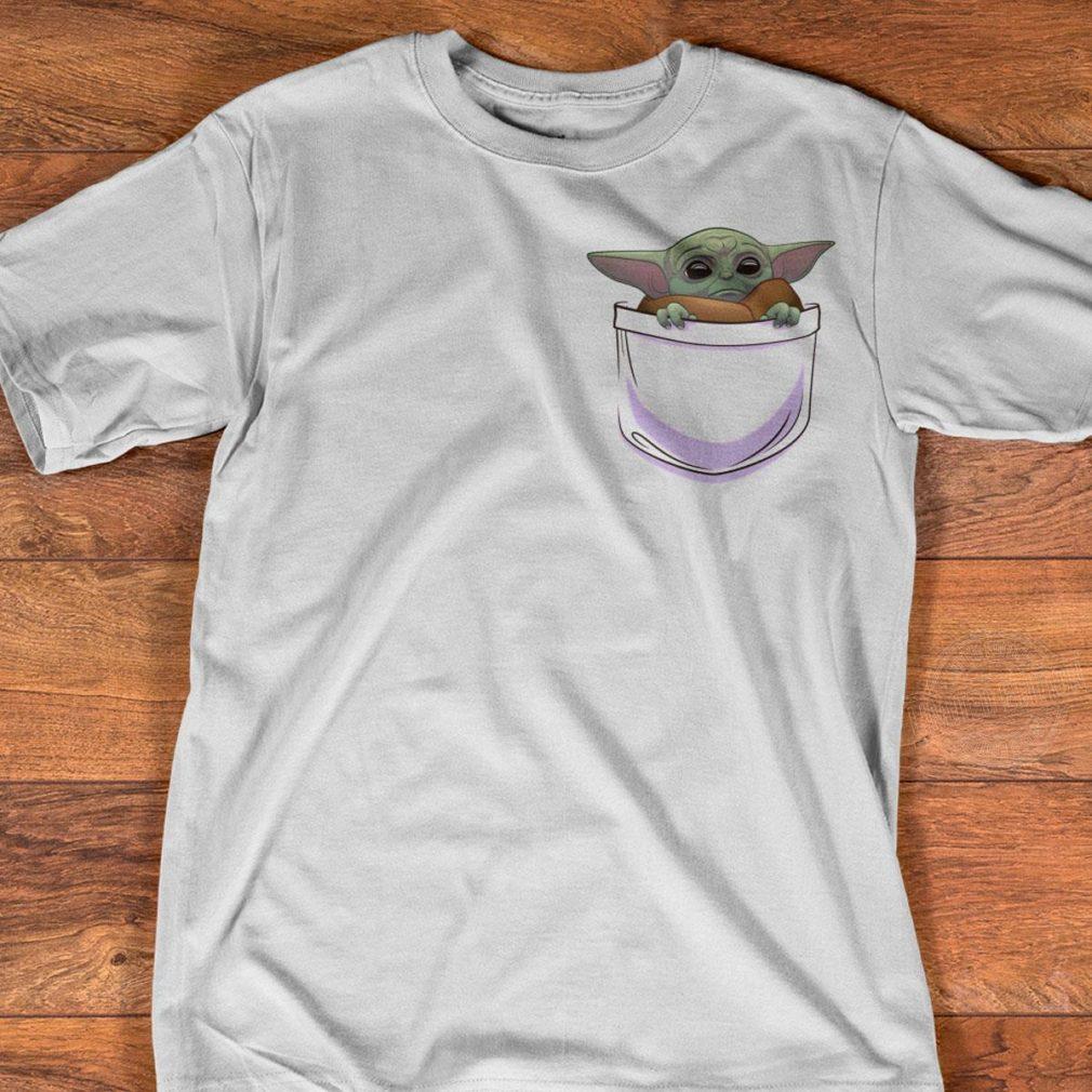 Baby Yoda In Pocket Shirt