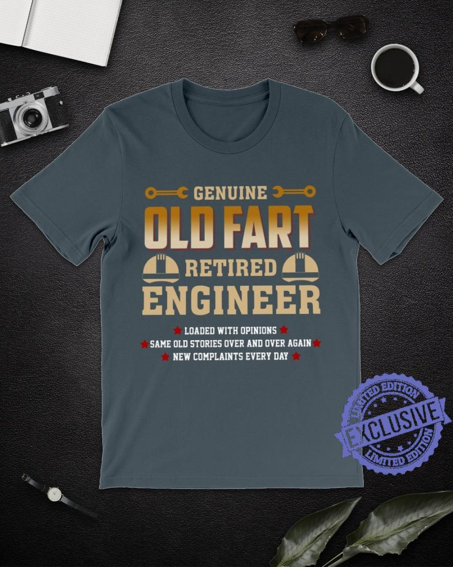 Genuine old fart retired engineer shirt