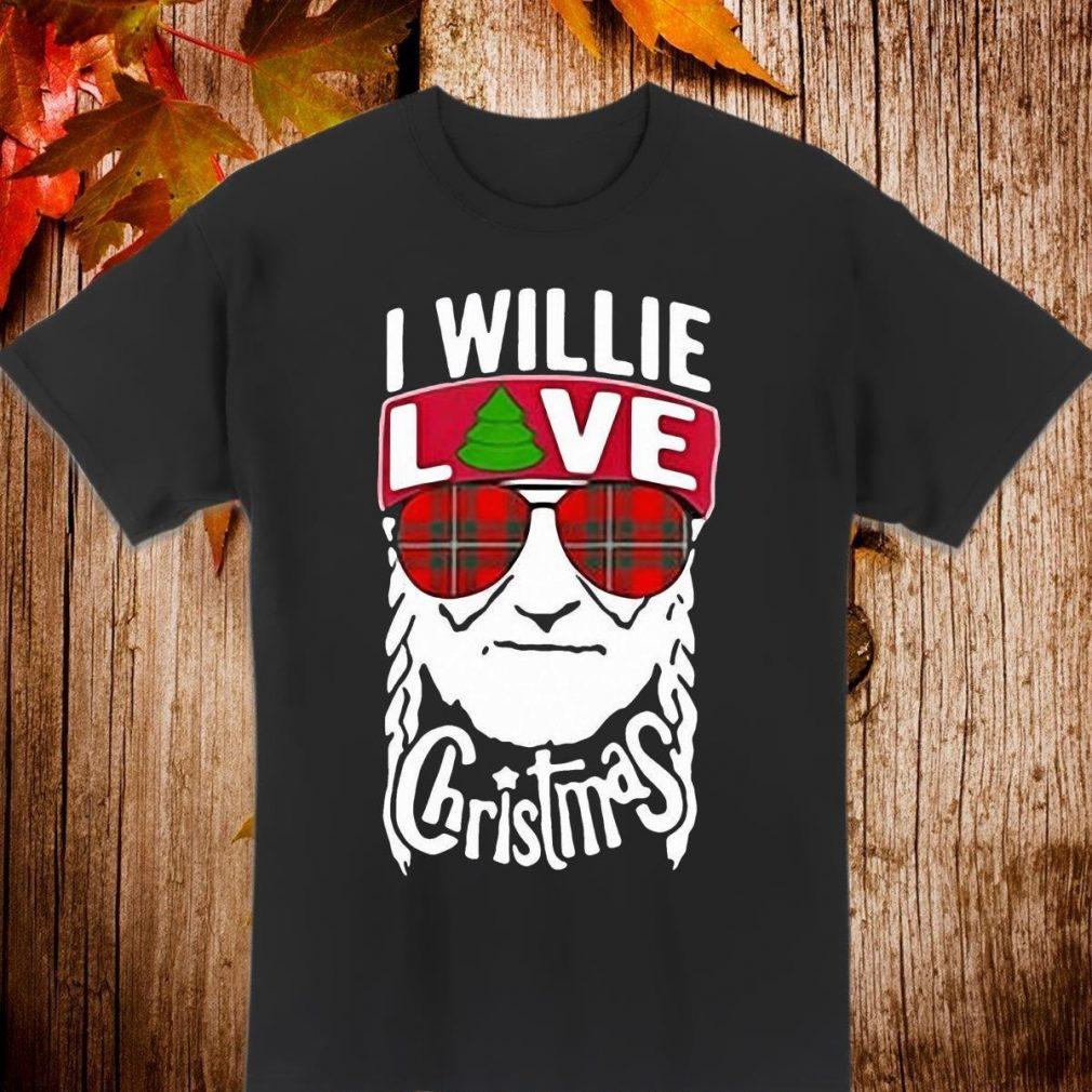 I willie love christmas Willie Nelson Shirt