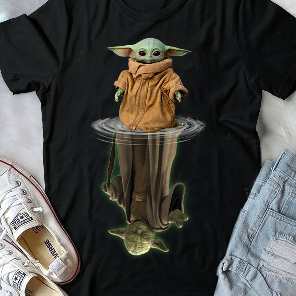 Official Baby Yoda Mirror Shirt