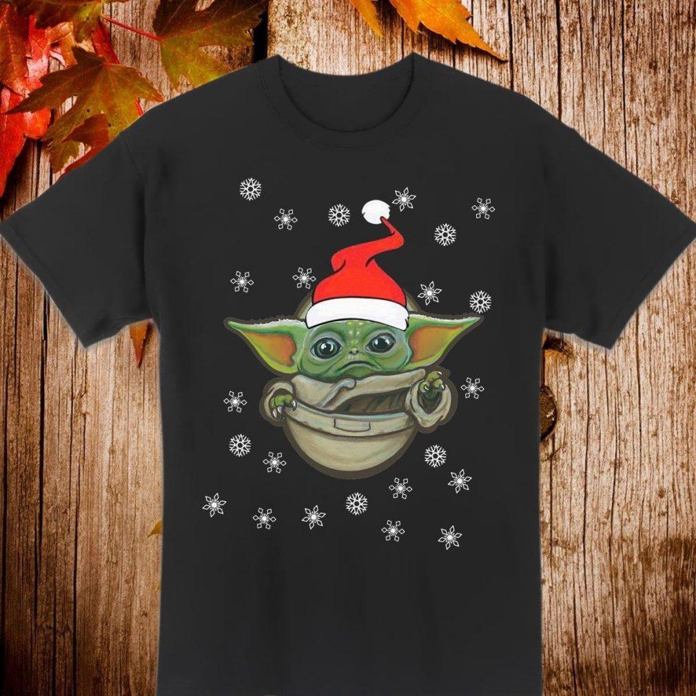 Santa Baby Yoda Christmas Shirt