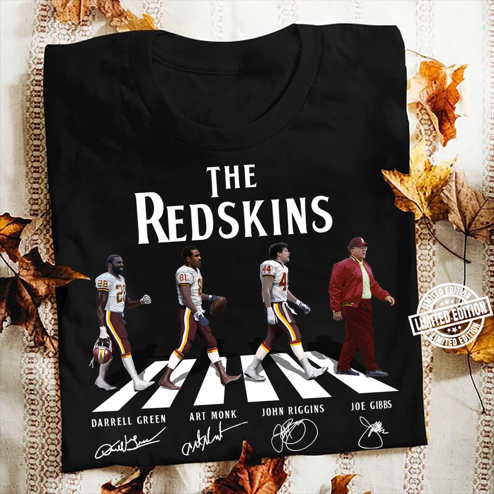 The Redskins Walking The Abbey Road Signatures Shirt